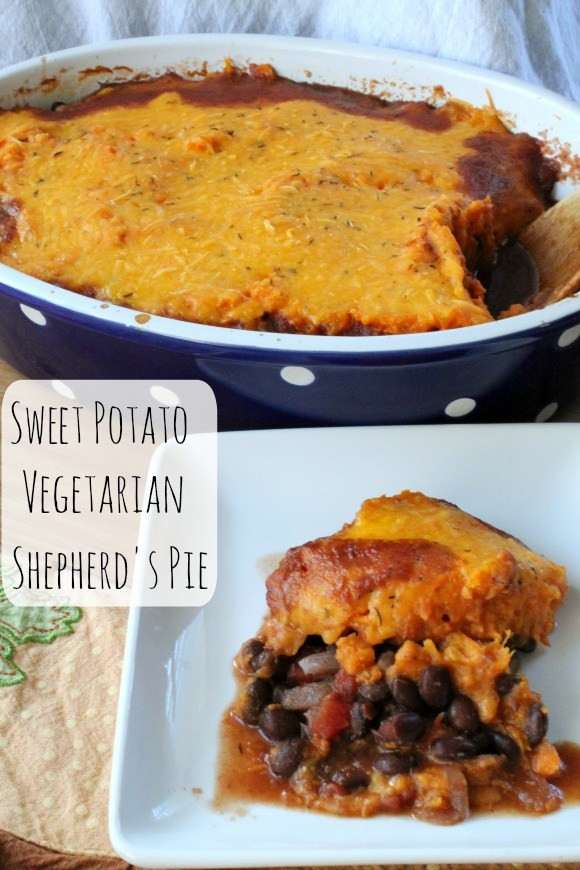 Sweet Potato Shepherd'S Pie Vegetarian  Sweet Potato Ve arian Shepherd's Pie
