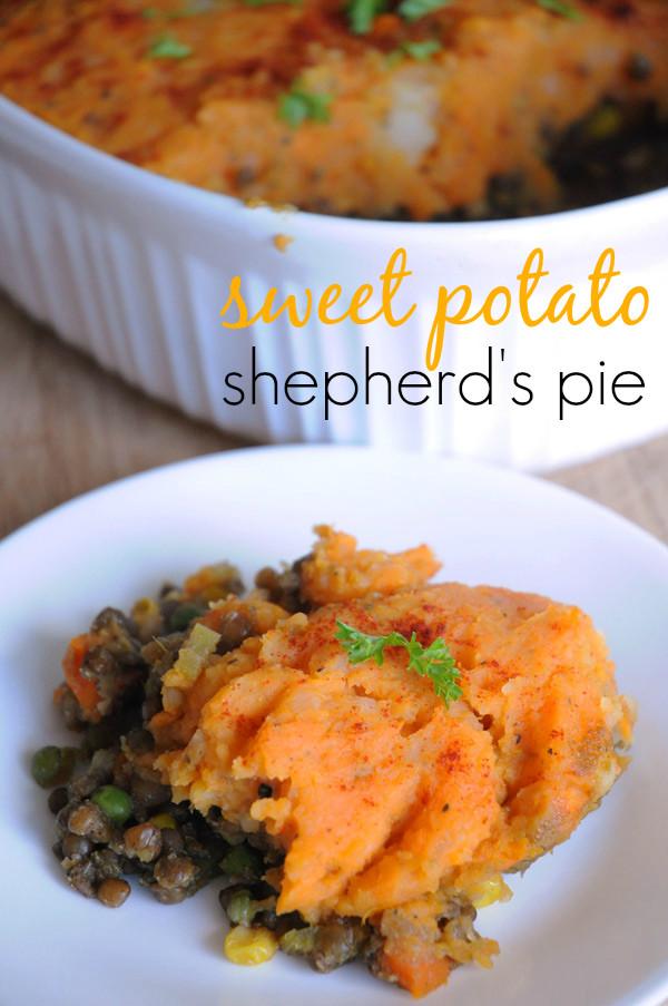 Sweet Potato Shepherd'S Pie Vegetarian  Vegan Shepherd s Pie