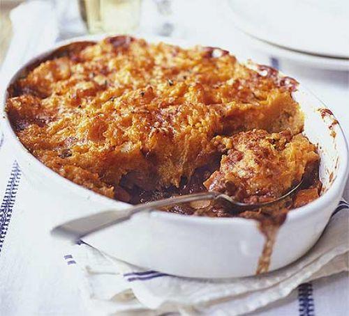 Sweet Potato Shepherd'S Pie Vegetarian  Veggie shepherd s pie with sweet potato mash recipe