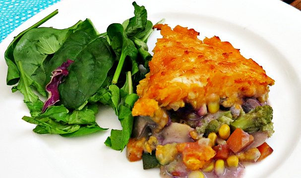 Sweet Potato Shepherd'S Pie Vegetarian  Frugal and Thriving Good Living for Less