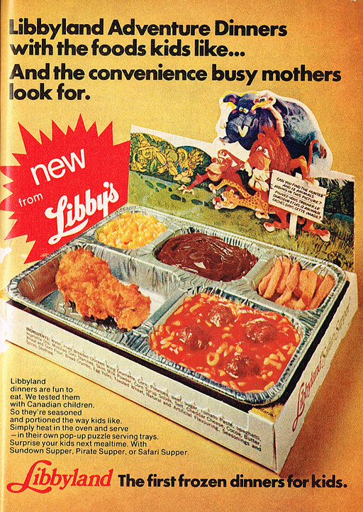 T V Dinners For Diabetics  These 8 vintage frozen TV dinners look strange and