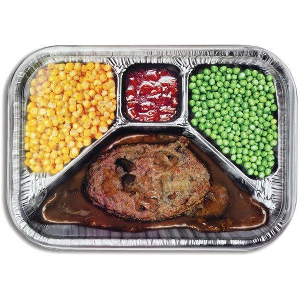 T V Dinners For Diabetics  TV Dinner Printed Metal Serving Tray