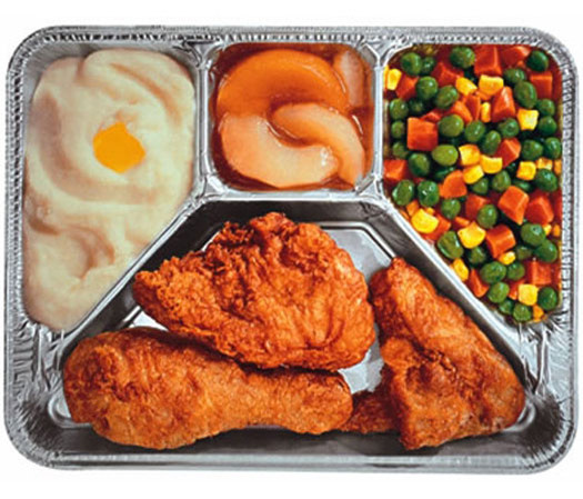 T V Dinners For Diabetics  No More Microwave Messages Please