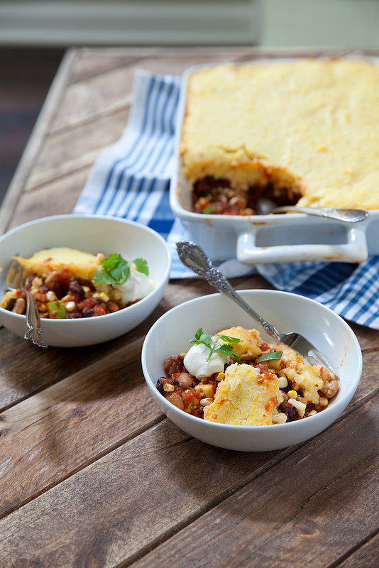 Tamale Pie Vegetarian  ve arian tamale pie recipe masa