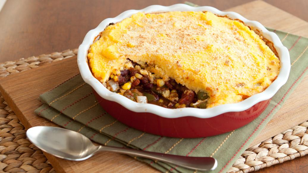 Tamale Pie Vegetarian  Ve arian Tamale Pie