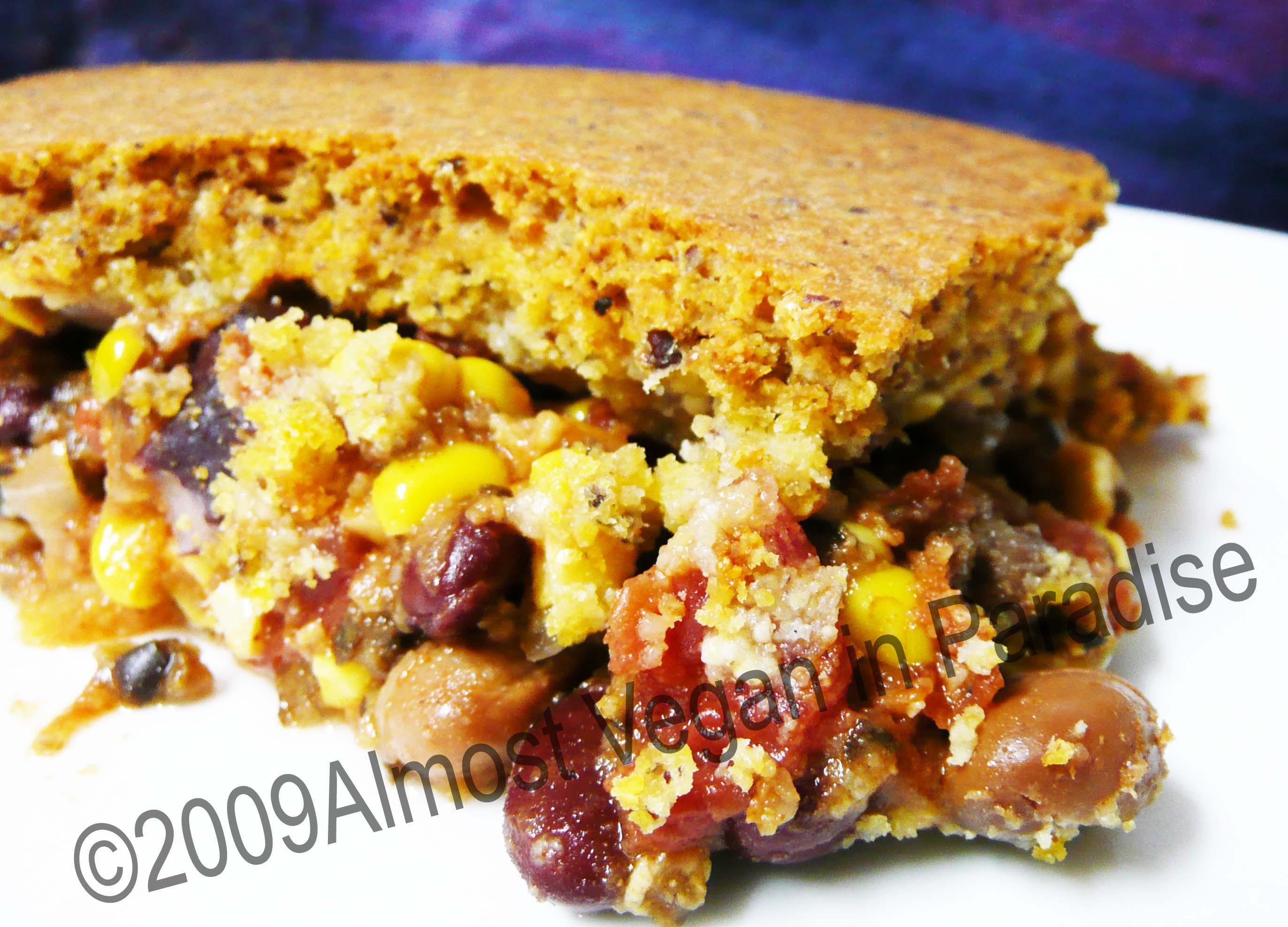 Tamale Pie Vegetarian  tamale pie