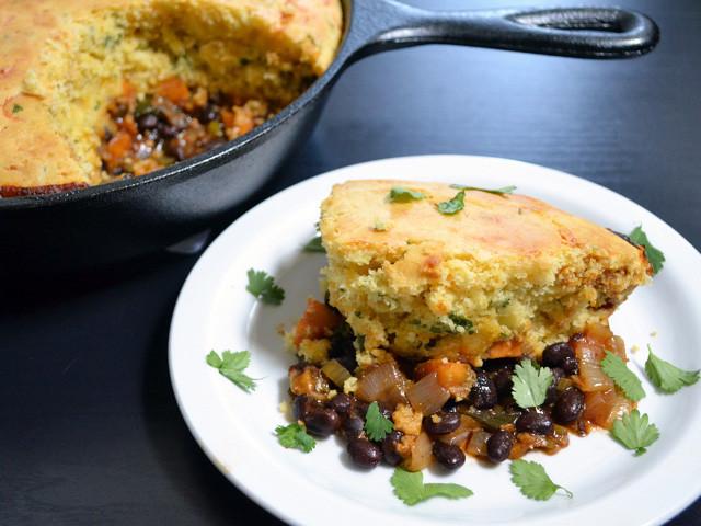 Tamale Pie Vegetarian  ve able tamale pie Bud Bytes