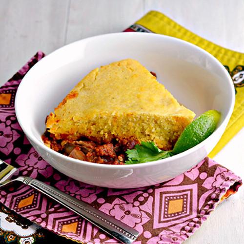 Tamale Pie Vegetarian  Slow Cooker Ve arian Tamale Pie Recipe Clean Eating