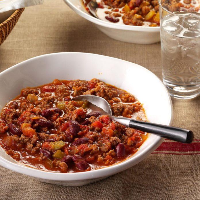Taste Of Home Vegetarian Chili  Classic Chili Recipe