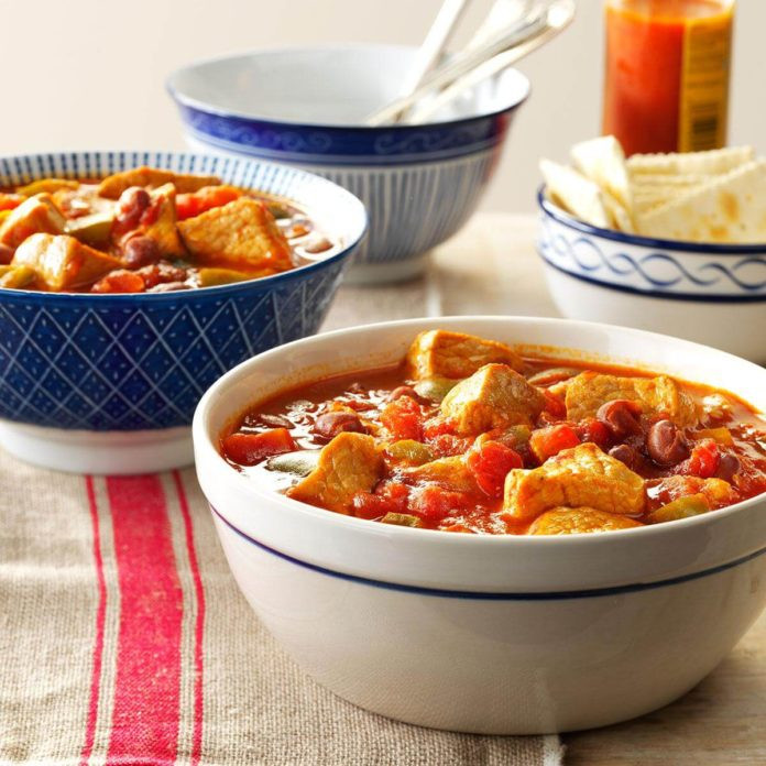 Taste Of Home Vegetarian Chili  Pork Chili Recipe