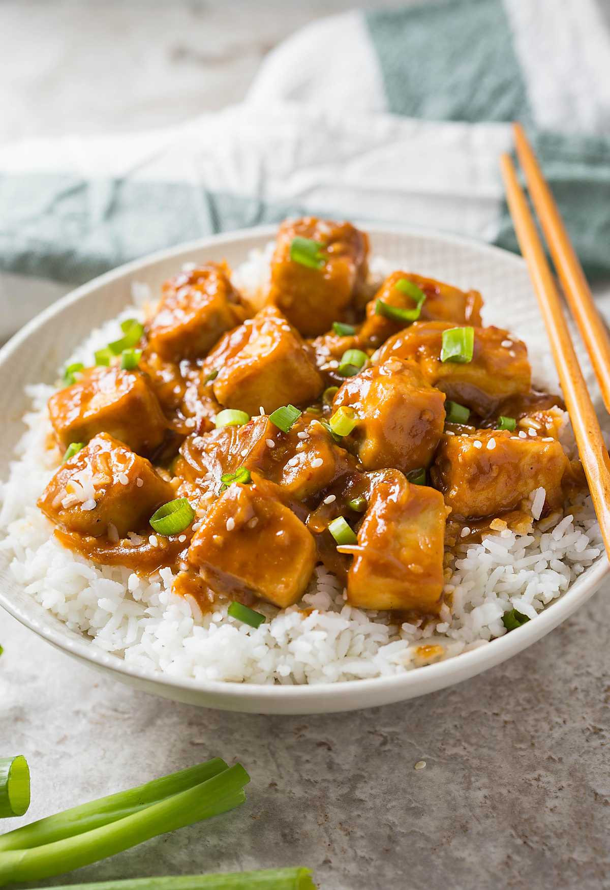 Tofu Recipes Healthy  30 min Healthy Asian chili garlic tofu stir fry e Pan