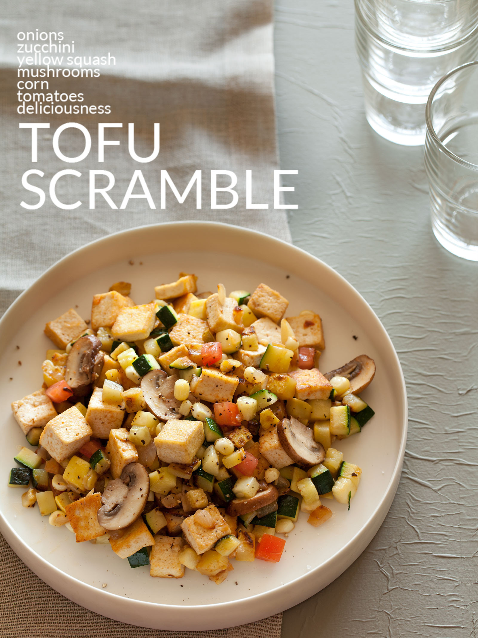 Tofu Recipes Healthy  Tofu Scramble Breakfast recipe