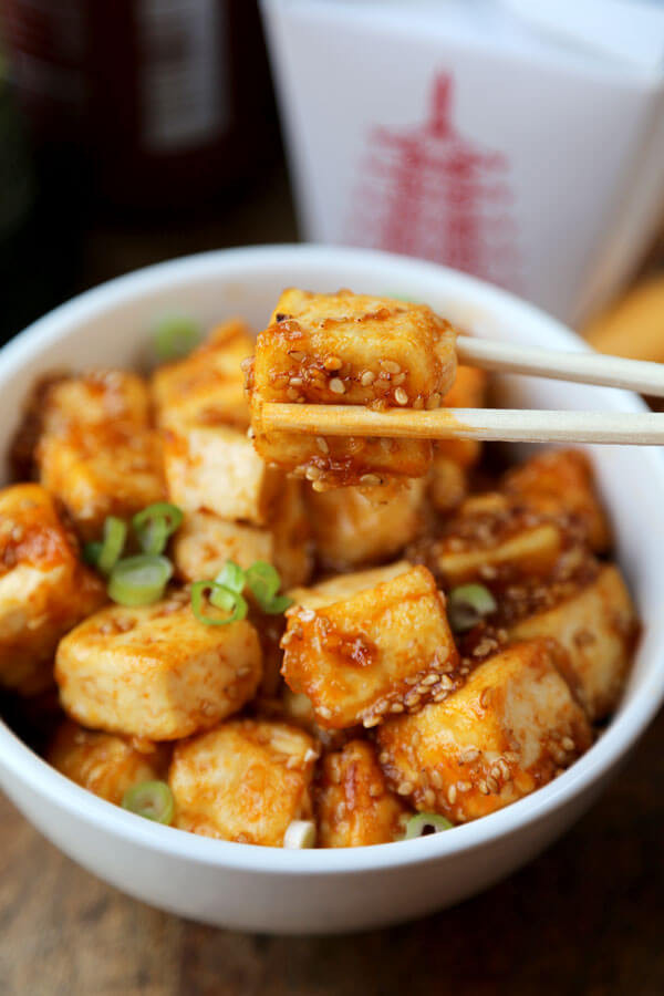Tofu Recipes Healthy  Honey Sriracha Tofu Pickled Plum Food And Drinks