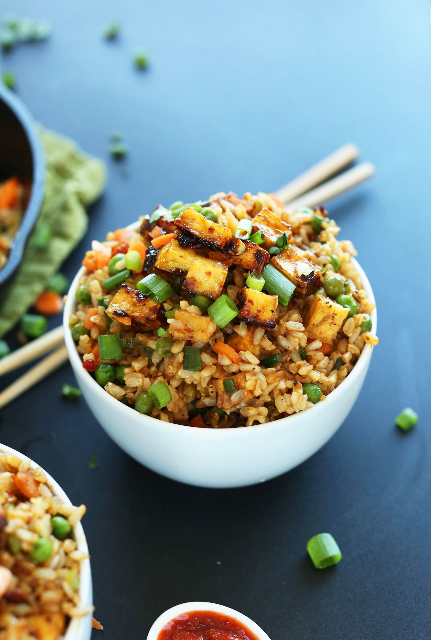 Tofu Recipes Healthy  Vegan Fried Rice