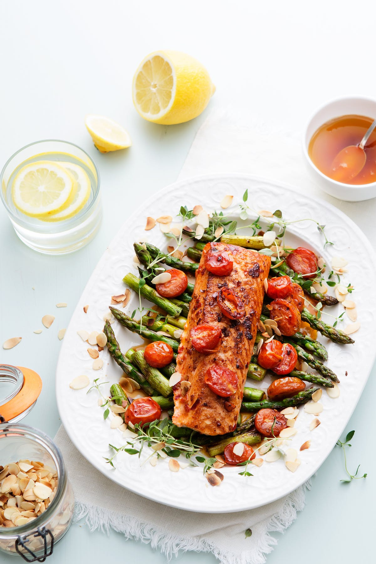 Tomatoes On Keto Diet  Keto Chili Salmon with Tomato and Asparagus Diet Doctor