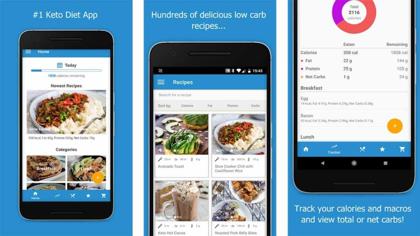 Total Keto Diet App  10 best keto t apps and paleo t apps for Android