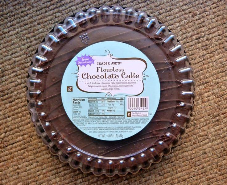 Trader Joe'S Gluten Free Cupcakes  Trader Joe s Flourless Chocolate Cake