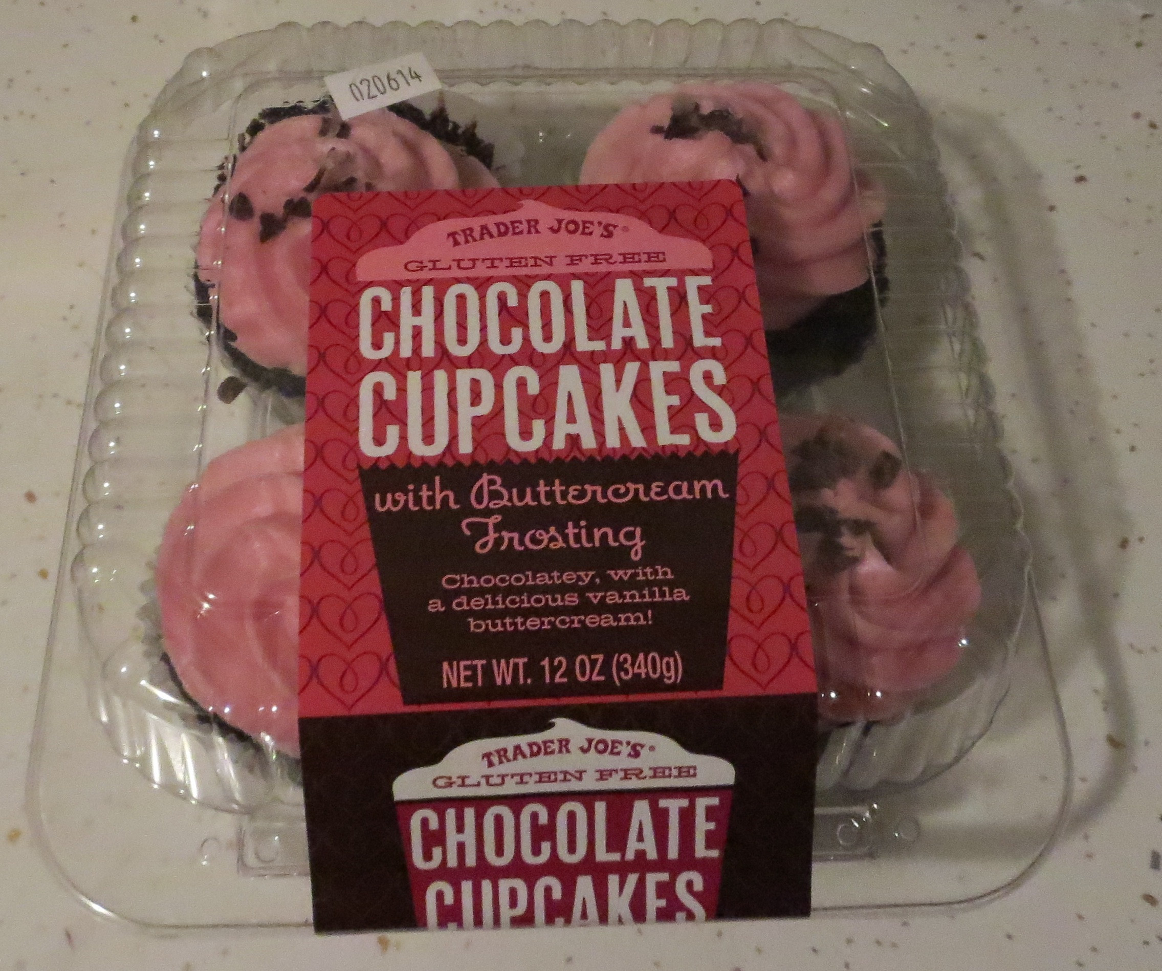 Trader Joe'S Gluten Free Cupcakes  Pink frosted gluten free Trader Joe's cupcakes