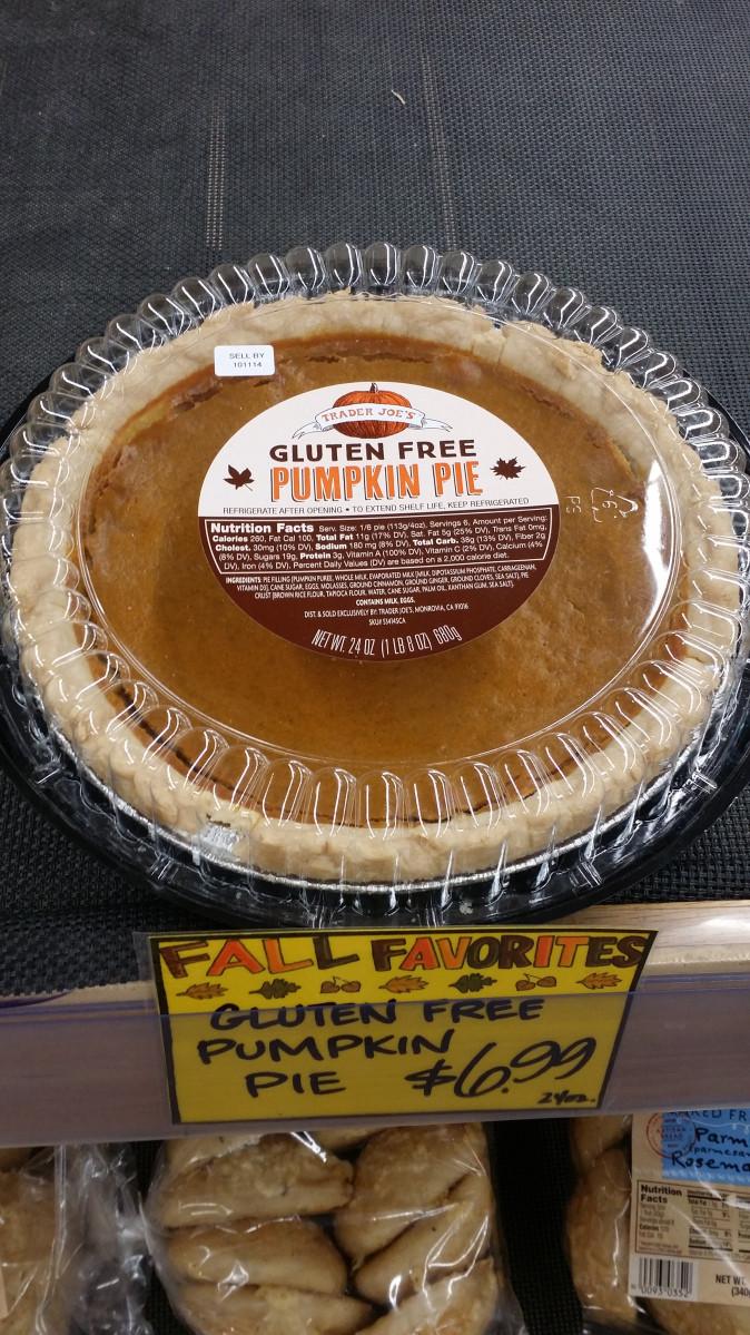 Trader Joe'S Gluten Free Cupcakes  Trader Joe's Gluten Free Pumpkin Pie