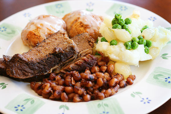 Traditional Easter Dinner Sides  Our Easter Brisket Dinner Menu & Recipes