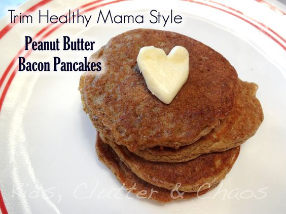 Trim Healthy Mama Pancakes  Butter Trim healthy mamas and Kid on Pinterest