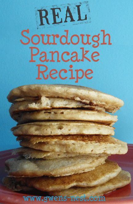 Trim Healthy Mama Pancakes  Sourdough Pancakes Recipe