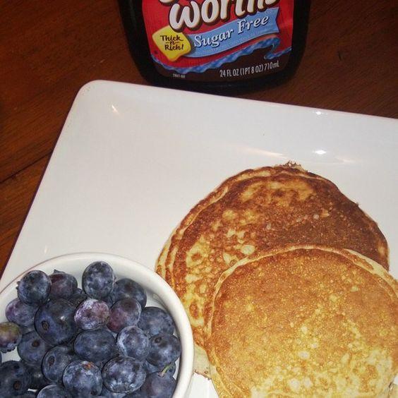 Trim Healthy Mama Pancakes  Trim Healthy Pancakes My husband loves these Trim