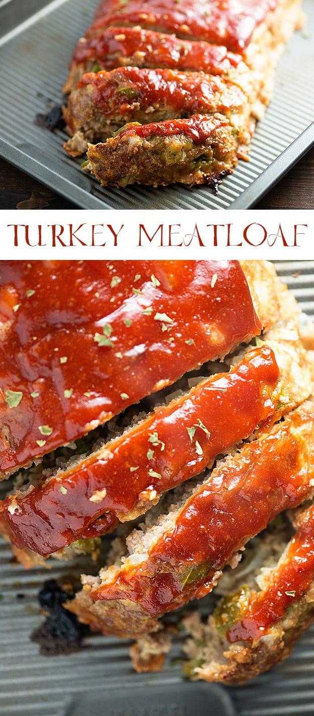 Turkey Meatloaf Healthy  Turkey Meatloaf Recipe moist and juicy healthy turkey