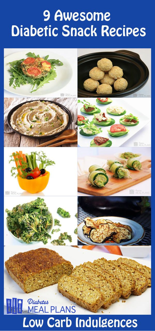Type 1 Diabetic Recipes  9 Diabetic Snack Recipes Low carb