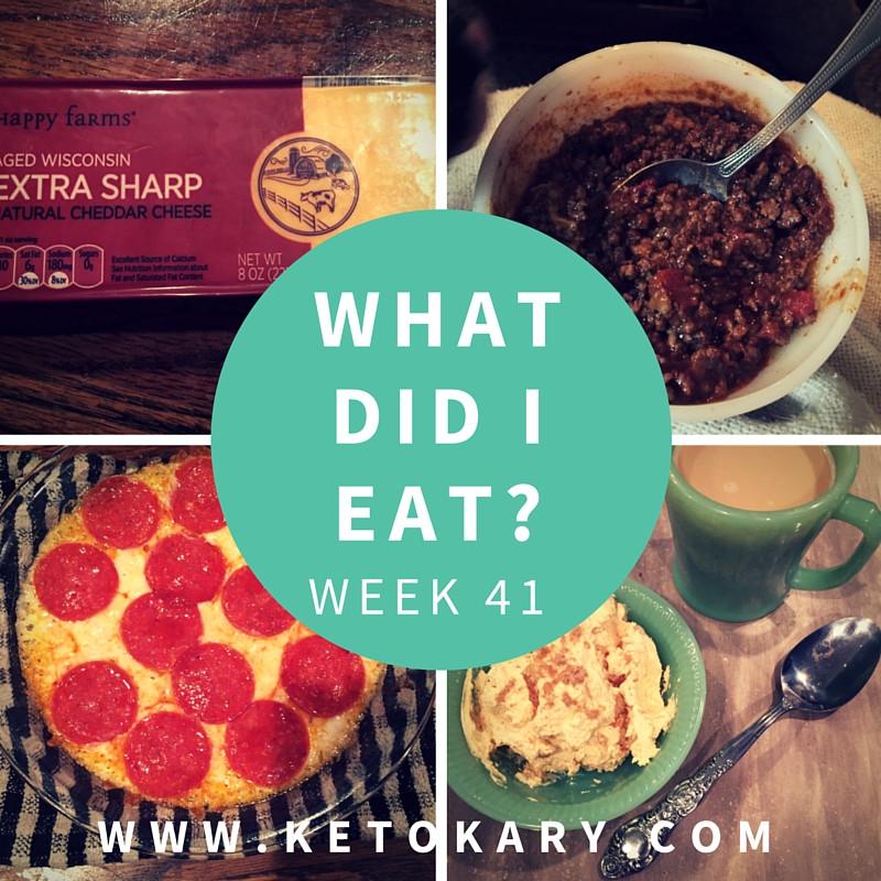 Typical Keto Diet  What Did I Eat Week 41 KETO KARY