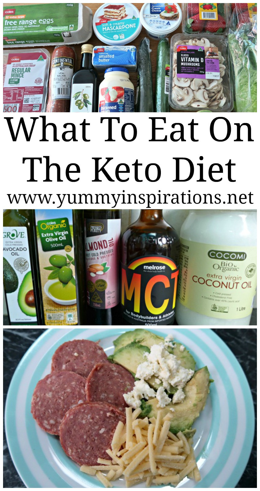 Typical Keto Diet  What To Eat A Ketogenic Diet What to eat on the Low