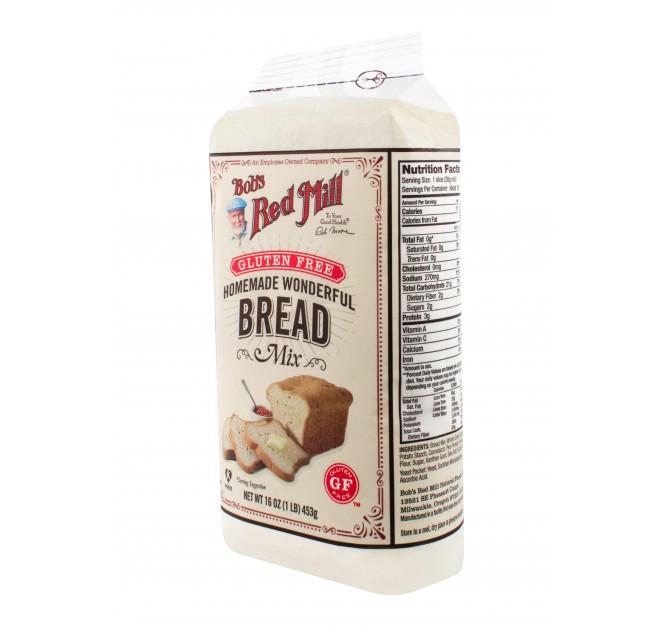 Udi'S Gluten Free Bread Calories  Gluten Free Homemade Wonderful Bread Bob s Red Mill