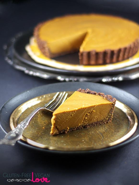 Vegan Aip Recipes  Gluten Free Vegan and Paleo Carob Pumpkin Tart AIP