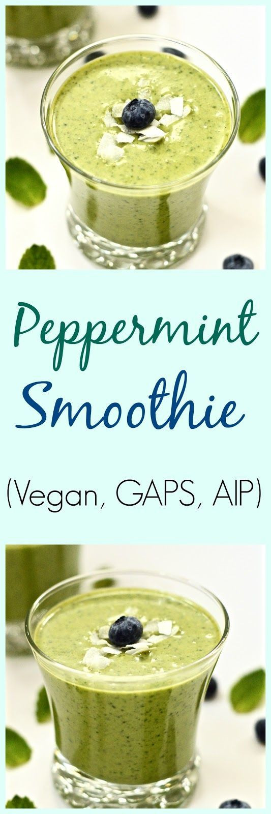Vegan Aip Recipes  Pure and Simple Nourishment Peppermint Smoothie SCD