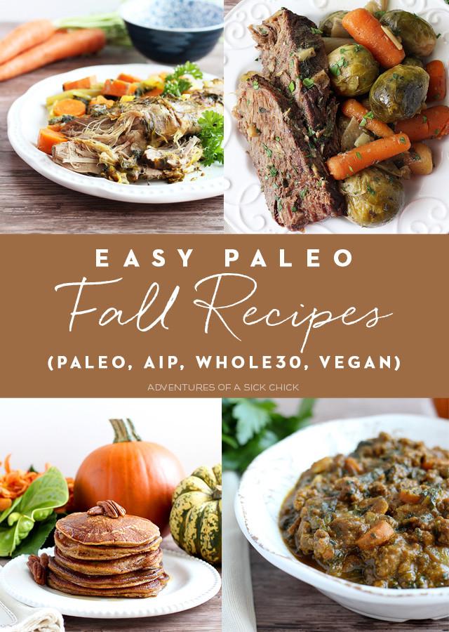 Vegan Aip Recipes  Easy Paleo Fall Recipes AIP Whole30 Vegan Adventures