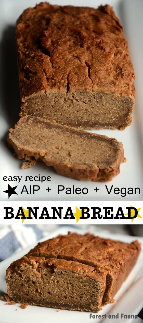 Vegan Aip Recipes  AIP Paleo Banana Bread Vegan