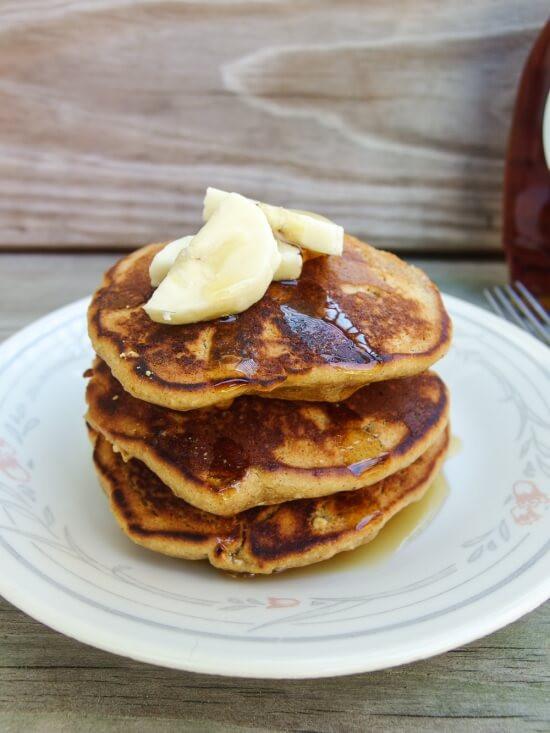 Vegan Almond Flour Pancakes  Chickpea Almond Pancakes Yup it s Vegan