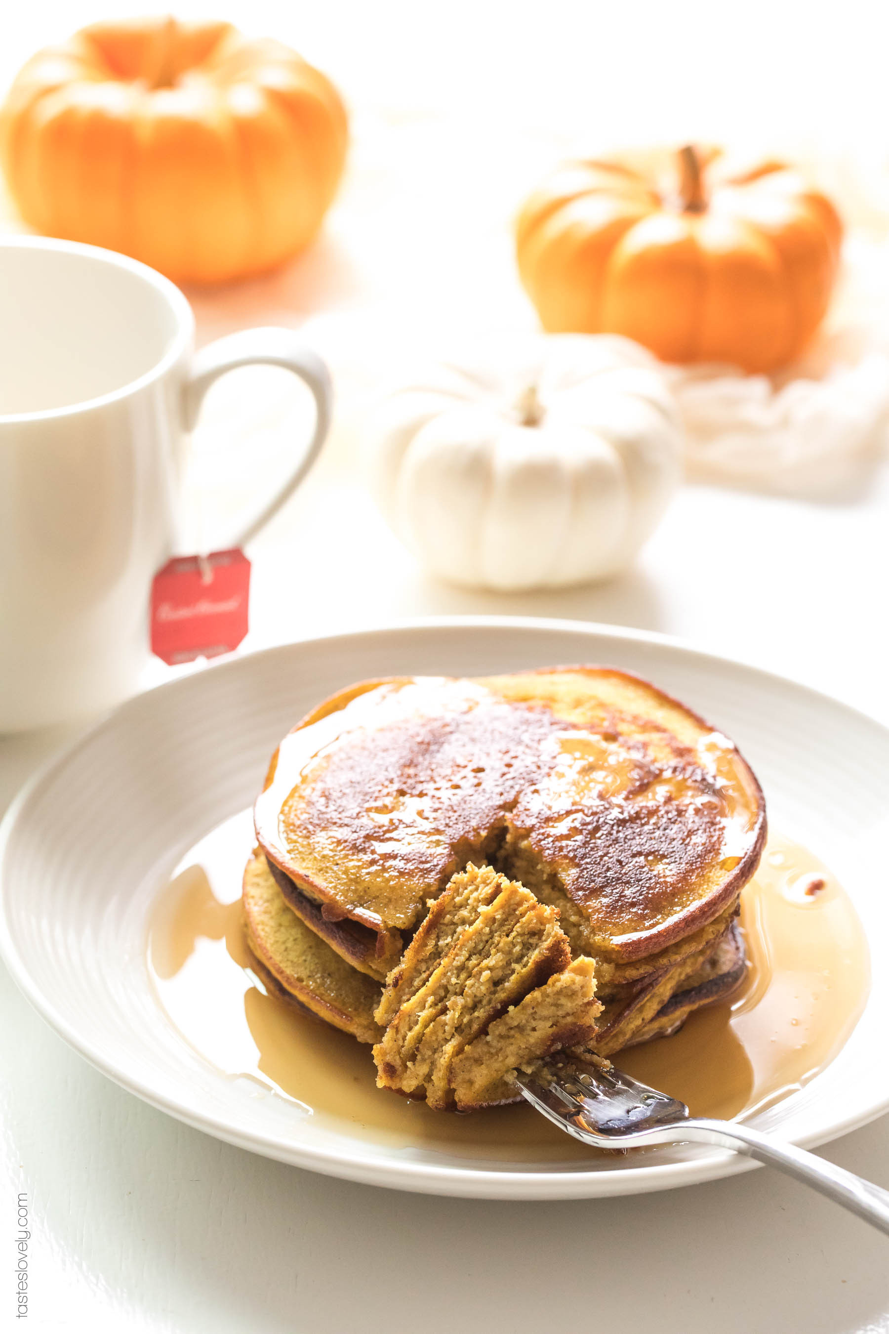 Vegan Almond Flour Pancakes  vegan pumpkin pancakes with coconut flour