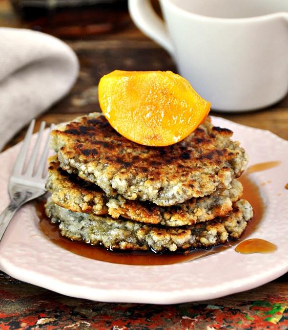 Vegan Almond Flour Pancakes  [Recipe] Almond Meal & Chia Seeds Pancakes Flourless