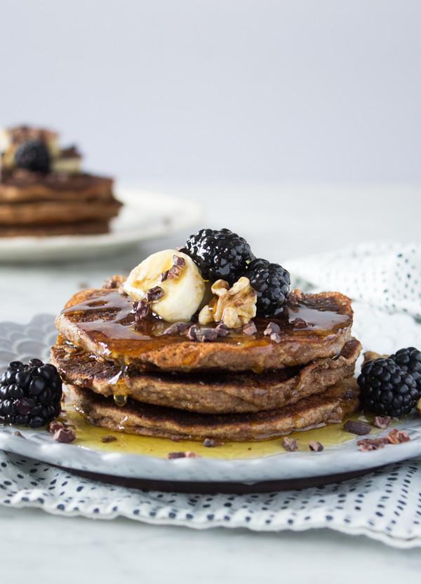 Vegan Almond Flour Pancakes  Gluten Free Vegan Breakfast Recipes