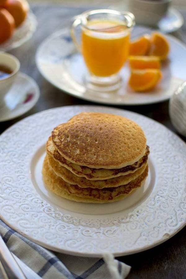 Vegan Almond Flour Pancakes  Almond Orange Pancakes Gluten free and Vegan Recipe