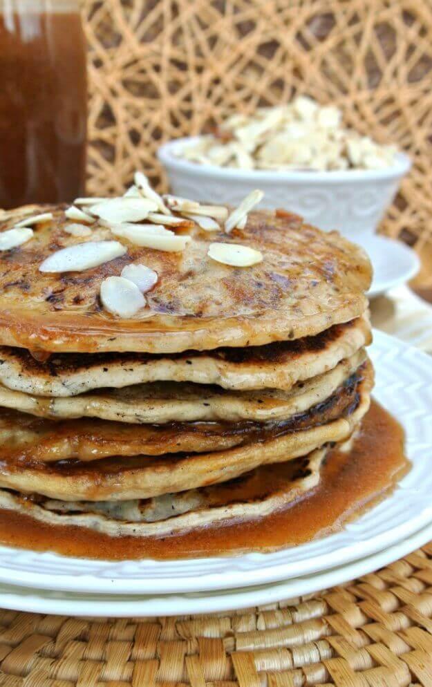 Vegan Almond Flour Pancakes  Vegan Buttermilk Pancakes & Holiday Brunch Plan