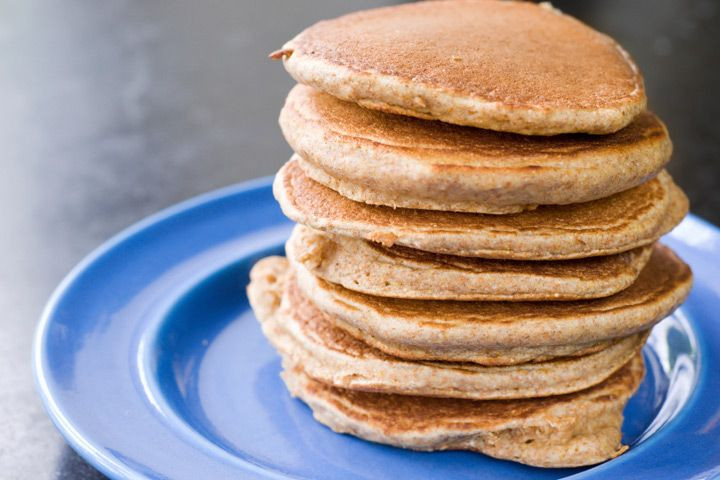 Vegan Almond Flour Pancakes  Almond Pancakes Detox with this vegan take on a fort