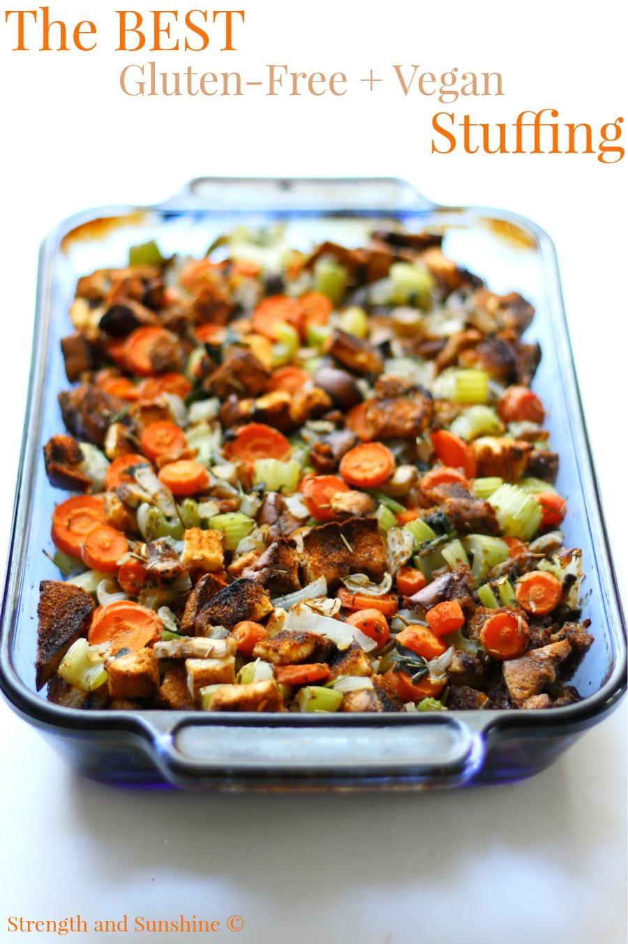 Vegan And Gluten Free Recipes  The Best Gluten Free Vegan Stuffing