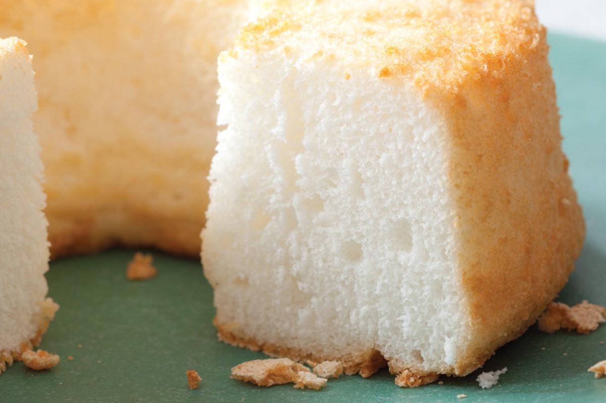 Vegan Angel Food Cake  Lovely Tender Angel Food Cake Recipe Ve arian Times