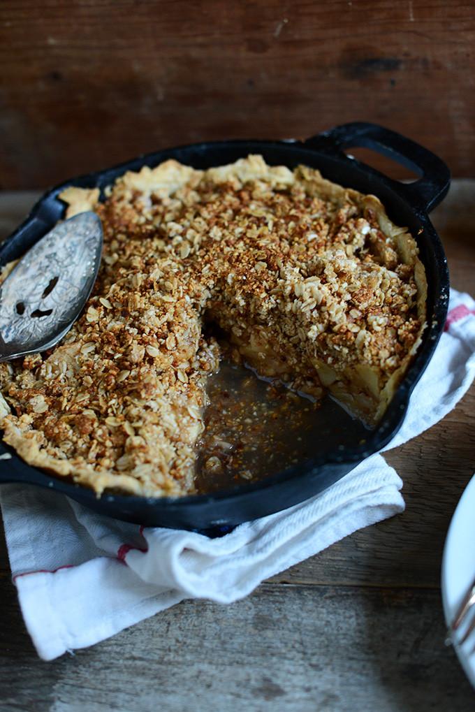 Vegan Apple Pie Minimalist Baker  Deep Dish Apple Pie