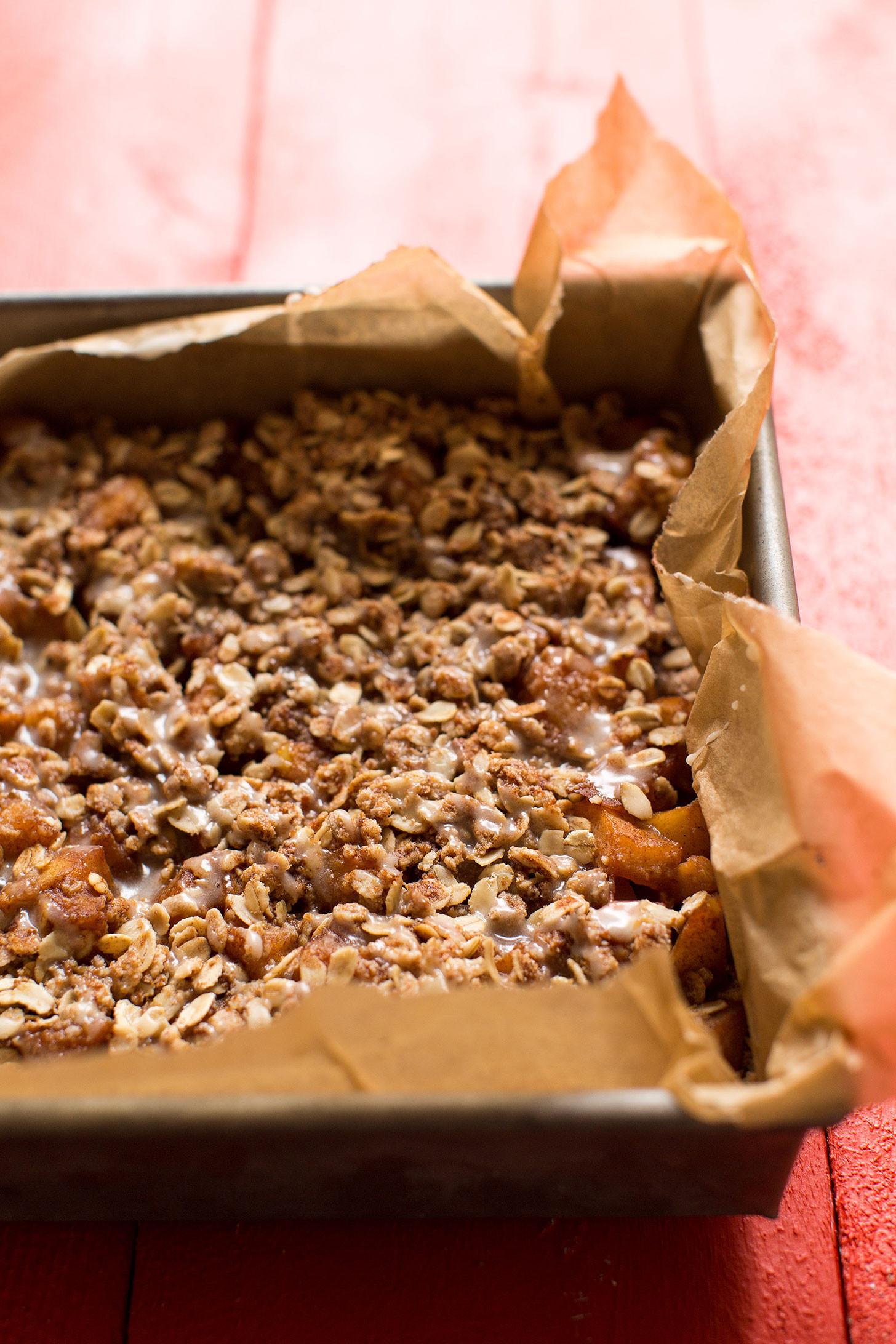 Vegan Apple Pie Minimalist Baker  Vegan and GF Apple Pie Crumble Bars
