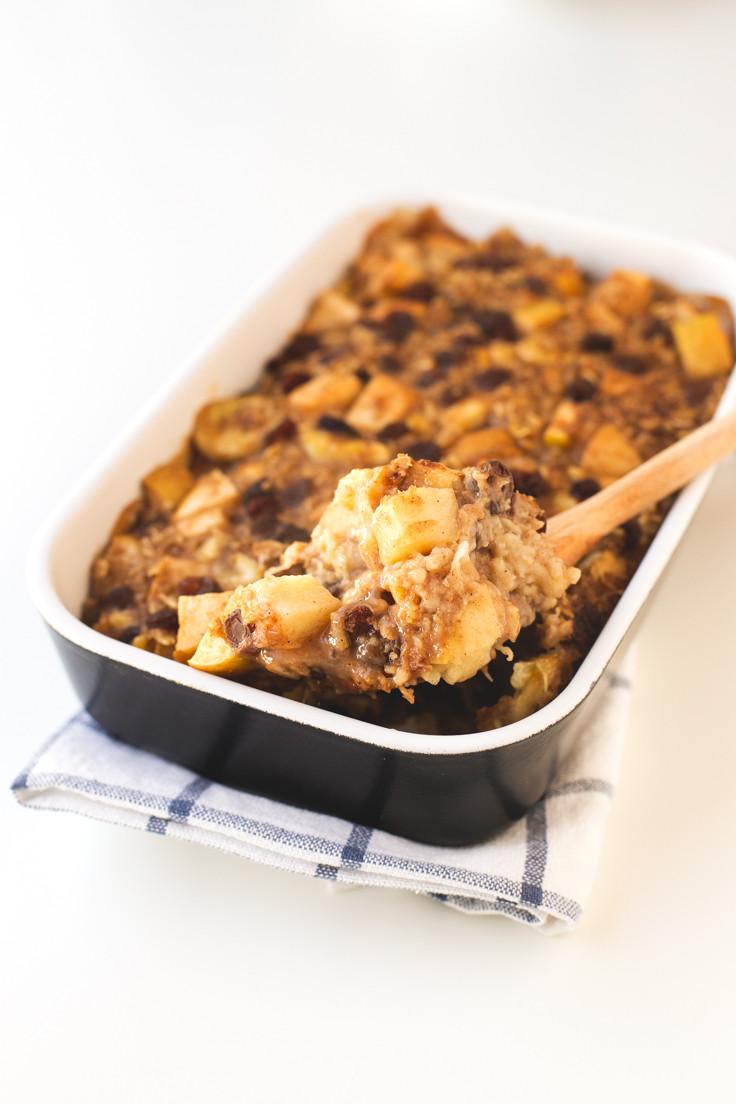 Vegan Apple Pie Minimalist Baker  Apple Pie Baked Oatmeal