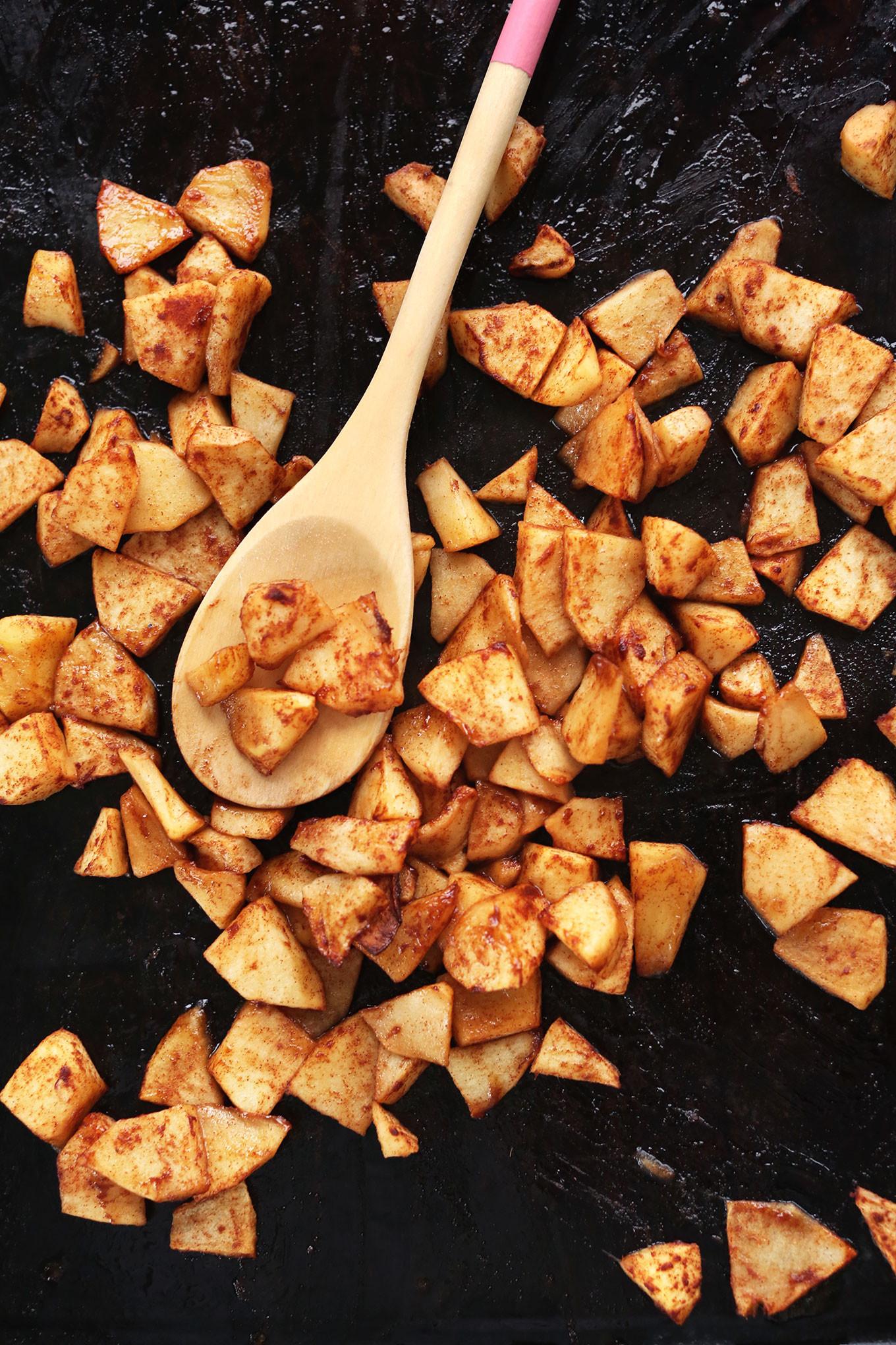 Vegan Apple Pie Minimalist Baker  Apple Pie Date Bars