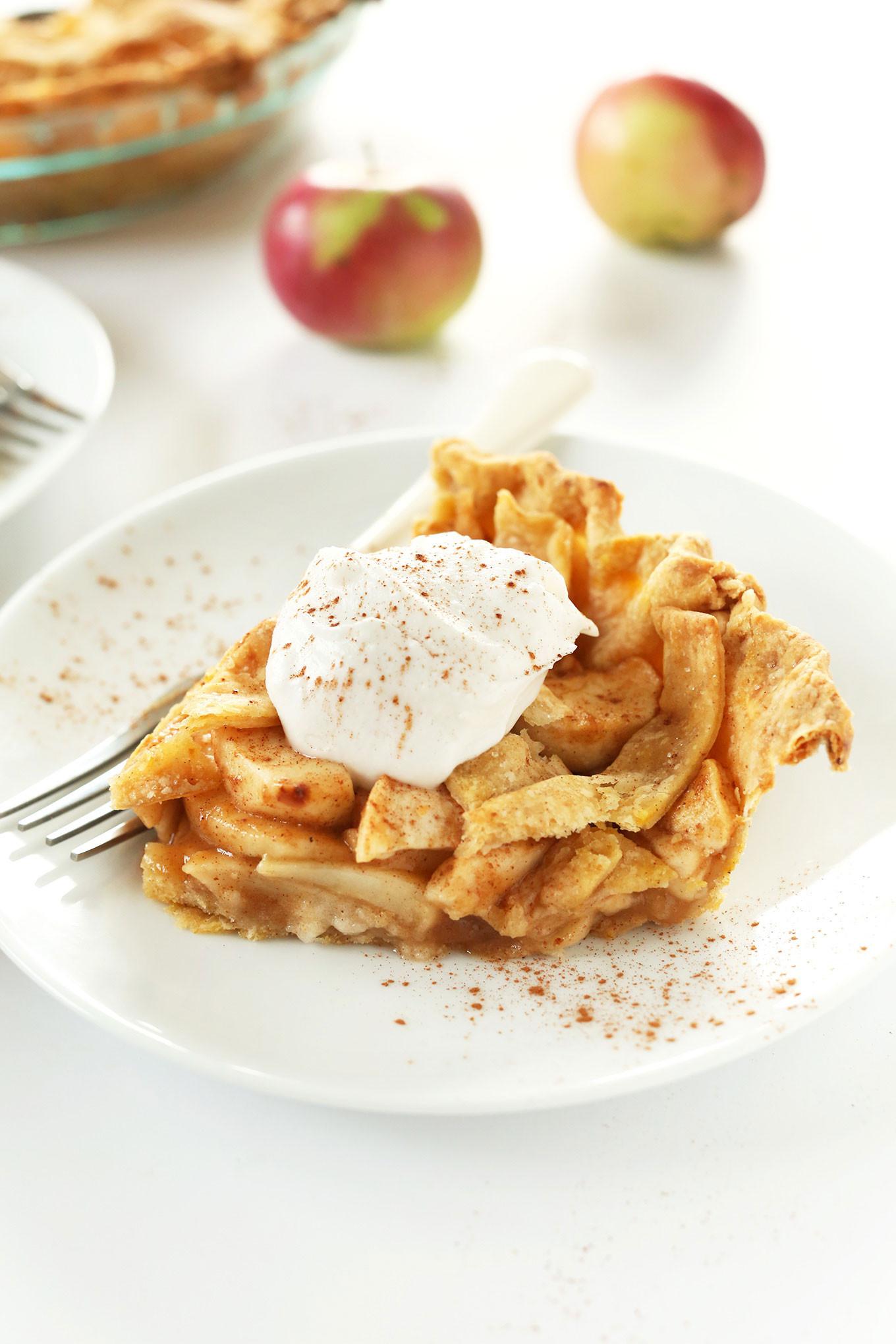 Vegan Apple Pie Minimalist Baker  Pumpkin Spiced Apple Pie
